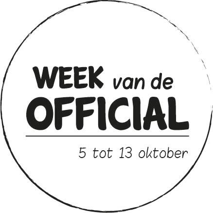 Week van de official 2019