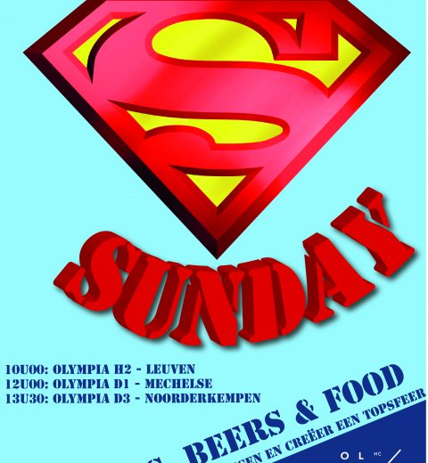 1ste Super Sunday van 2019